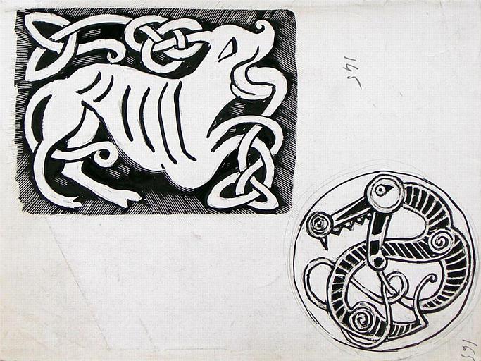 Ornements vikings (1ère copie de motifs) [titre attribué]_0