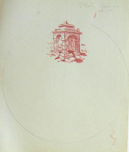 Fontaine St Roch de Quistinic [titre attribué]_0