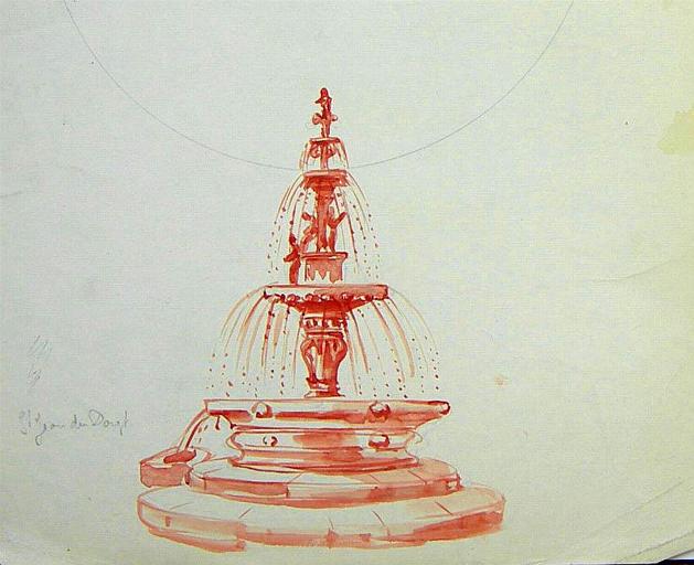 Fontaine de St Jean du Doigt [titre attribué]_0