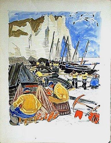 Les pêcheurs d'Yport [titre attribué]_0