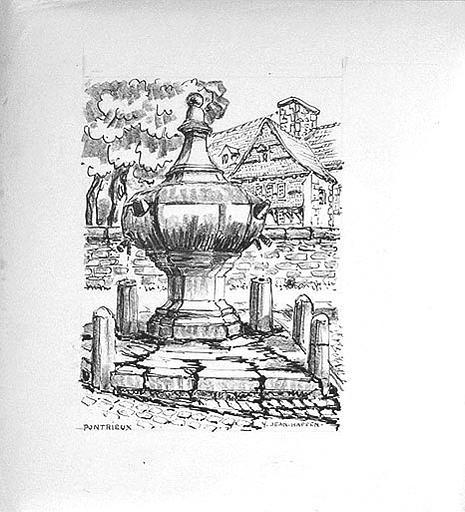 Fontaine à Pontrieux [titre attribué]_0
