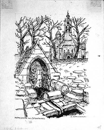 Notre Dame des trois fontaines [titre attribué]_0