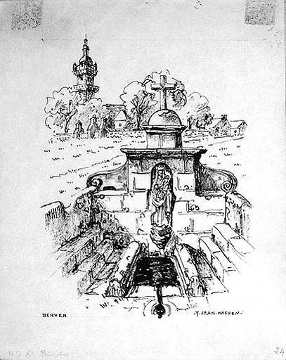 Fontaine Notre Dame de Berven [titre attribué]_0