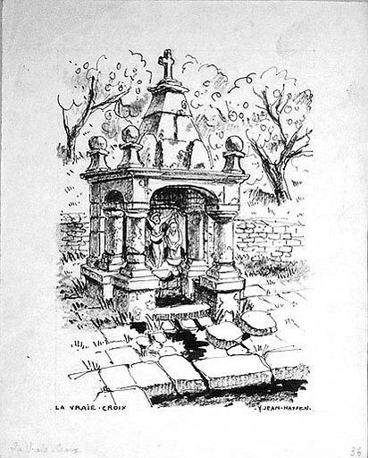 Fontaine de la Vraie Croix [titre attribué]_0