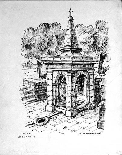 Fontaine St Cornely [titre attribué]_0