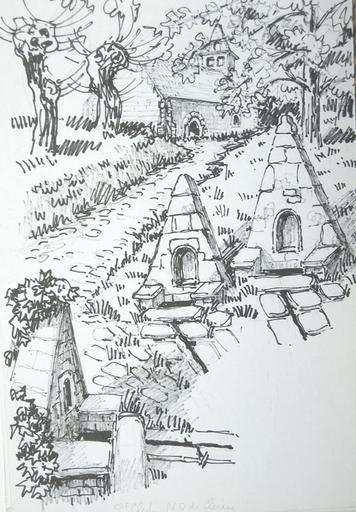 Les fontaines de N. D. de Clérin [titre attribué]_0
