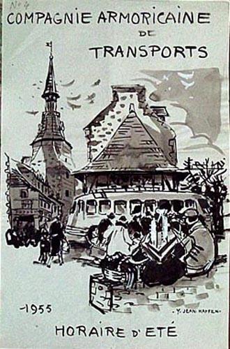 Station de car place des Jacobins 1955 [titre attribué]_0