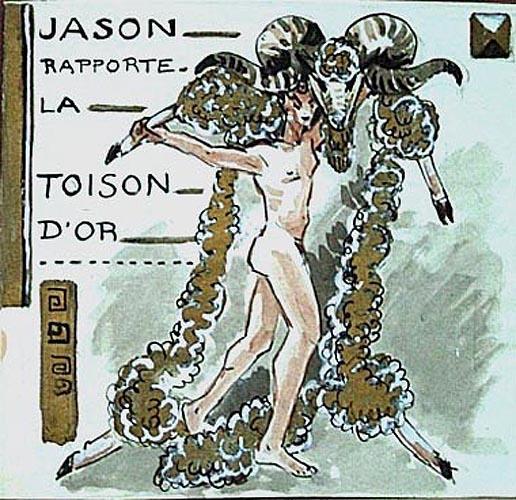 Jason rapporte la Toison d'or (titre inscrit)_0