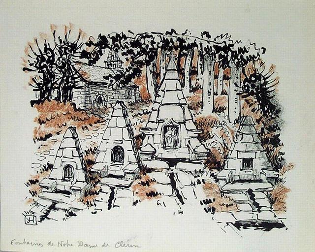 Fontaine N. D. de Clérin [titre attribué]_0
