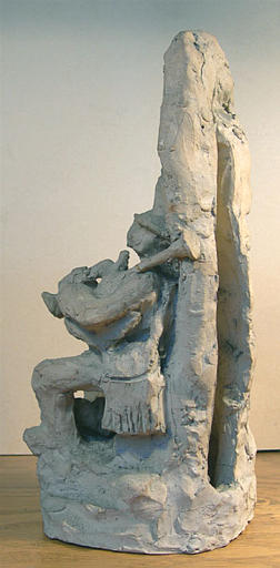 JEAN-HAFFEN Yvonne, Henriot (?, exécutant) : Danseurs bretons au pied d'un menhir [titre attribué]