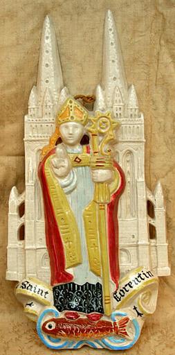 Saint Corentin (bas-relief) [titre attribué]_0