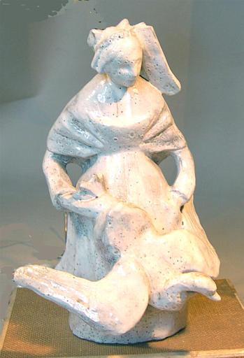 Bretonne tenant une oie [titre attribué]_0