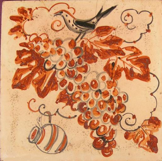 Carreau au raisin [titre attribué]_0