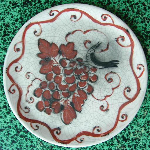 La Grande Vigne (plat décoré) [titre attribué]_0