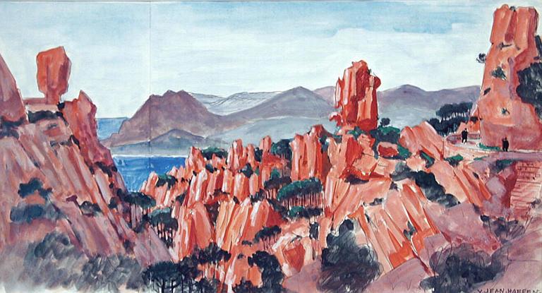 Les montagnes rouges de Corse [titre attribué]_0