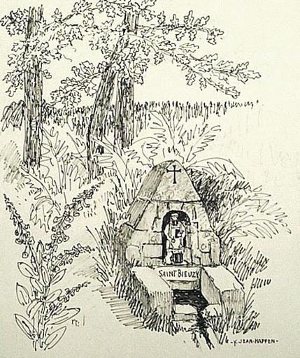 St Bihy : la fontaine [titre attribué]_0
