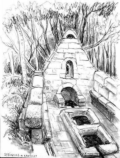 Laniscat : fontaine St Gildas (titre inscrit)_0