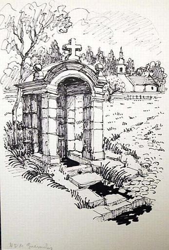 Fontaine Notre-Dame, Guernilis [titre attribué]_0