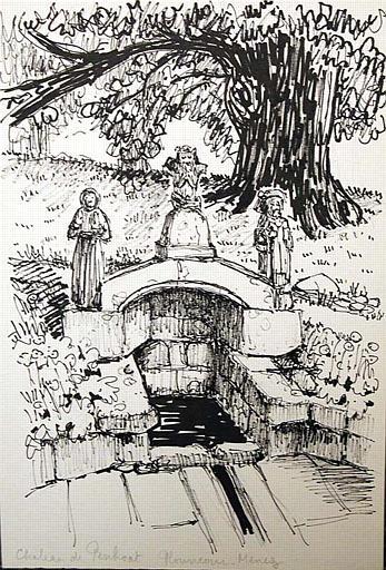 Fontaine du château de Penhoat [titre attribué]_0