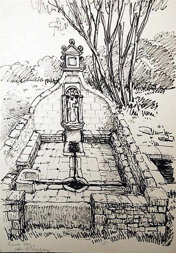 Fontaine Sant Vezo (près St Vougay) [titre attribué]_0