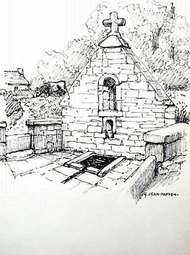 Loc Meltro : fontaine St Meldroc [titre attribué]_0
