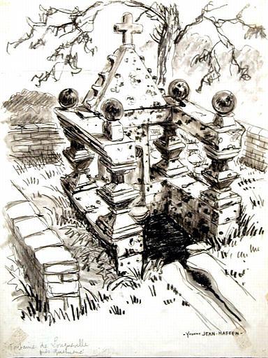 Guéméné sur Scorff : fontaine de Longueville [titre attribué]_0