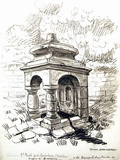 Quistinic : Fontaine St Roch_0