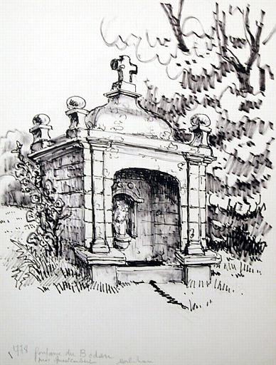 Fontaine du Bodan près Questembert (titre inscrit)_0