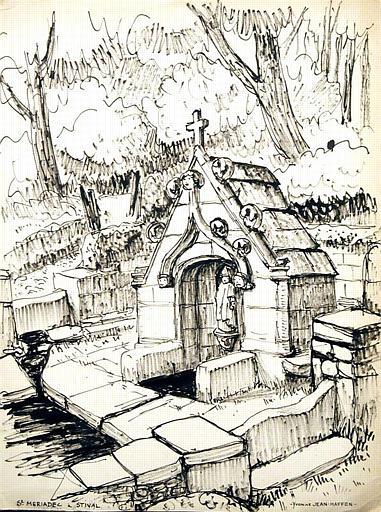Fontaine St Mériadec à Stival [titre attribué]_0