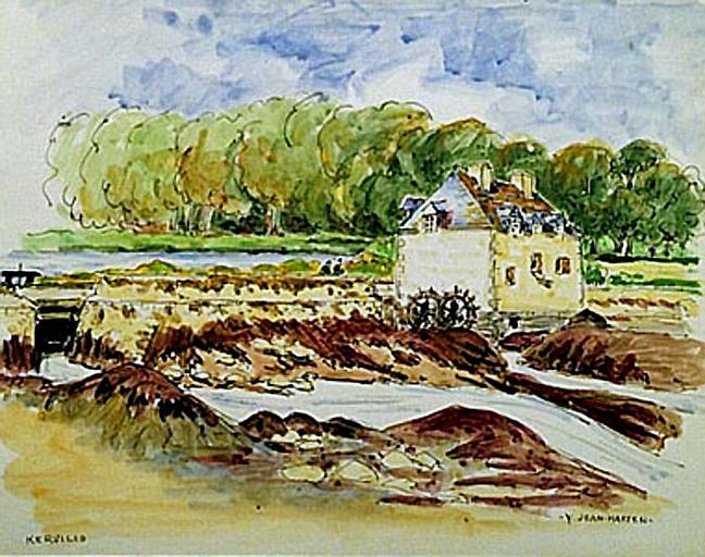 Moulin de Kervilio [titre attribué]_0