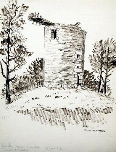 St Jacut-Les-Pins ; moulin de la vallée [titre attribué]_0