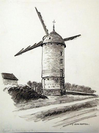 Dinan : le moulin des Bas-Foins [titre attribué]_0