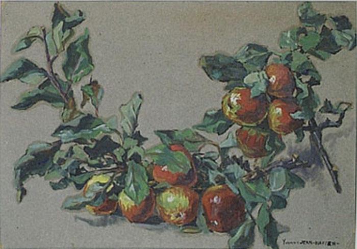 Nature morte aux pommes (étude) [titre attribué]_0