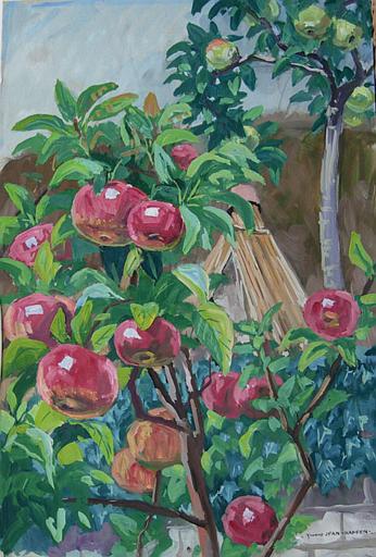 Un petit pommier à la Grande Vigne (étude) [titre attribué]_0