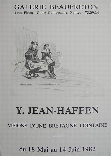 Nantes, Galerie Beaufreton Visions d'une Bretagne lointaine 1982 (exposition Yvonne Jean-Haffen) [titre attribué]_0
