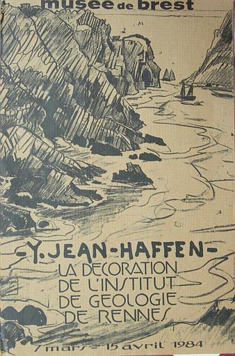 BREST ; Musée ; Décoration de l'Institut de Géologie de Rennes ; Du 7 mars au 15 avril 1984 (exposition Yvonne Jean-Haffen) [titre attribué]_0