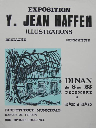 DINAN ; Bibliothèque Municipale ; Bretagne-Normandie ; Du 8 au 23 décembre. (exposition Yvonne Jean-Haffen) [titre attribué]_0