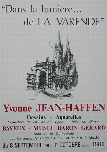 Bayeux:Dans la lumière de La Varende (exposition Y. Jean-Haffen) [titre attribué]