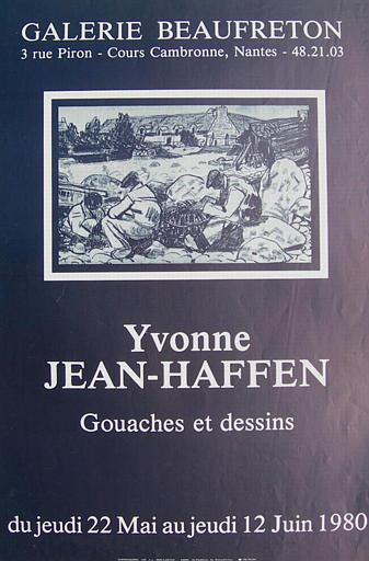 Nantes : galerie Beaufreton (exposition Yvonne Jean-Haffen)_0