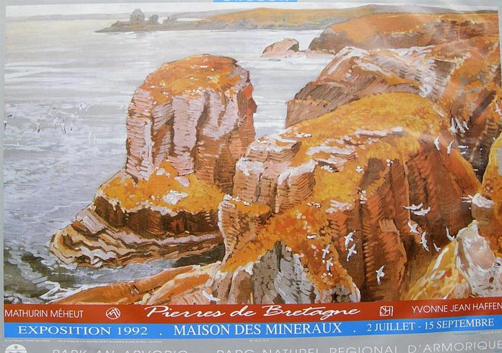 Mathurin Méheut, Yvonne Jean-Haffen : pierres de Bretagne [titre attribué]_0
