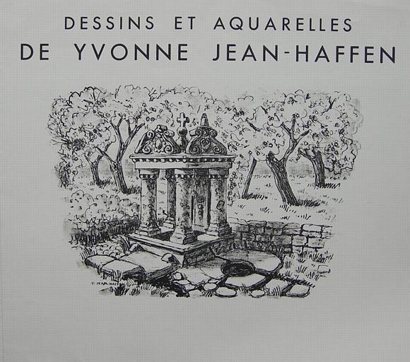 Dessins et aquarelles de Yvonne Jean-Haffen (fontaines) [titre attribué]_0
