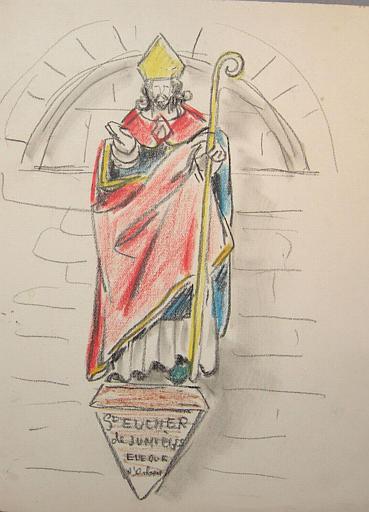 Copies de statues religieuses normandes [titre attribué]_0