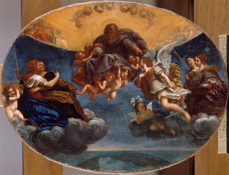 Le Père éternel et l'ange Gabriel_0