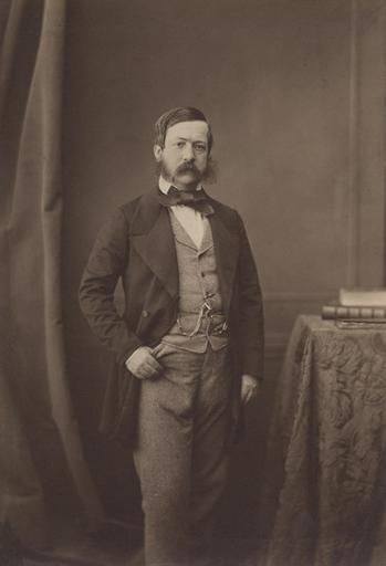 Portrait de M. Couturier, secrétaire du duc d'Aumale_0