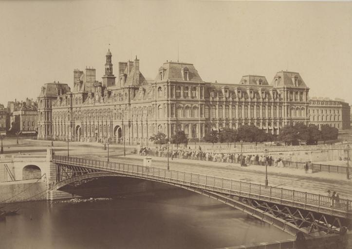 Paris. L'Hôtel de ville