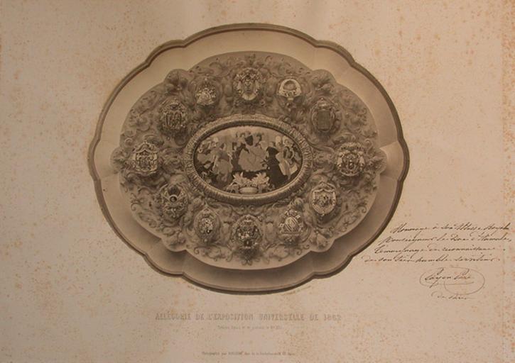 Allégorie de L' EXposition Universelle de 1862