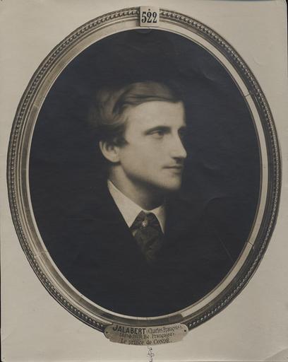 Reproduction du tableau de Jalabert, le prince de Condé_0