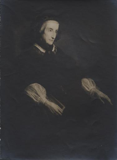 Reproduction du tableau de Jalabert, la reine Marie-Amélie