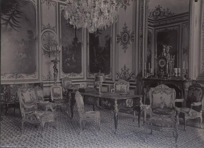 Le château de Chantilly : La chambre de M. le prince