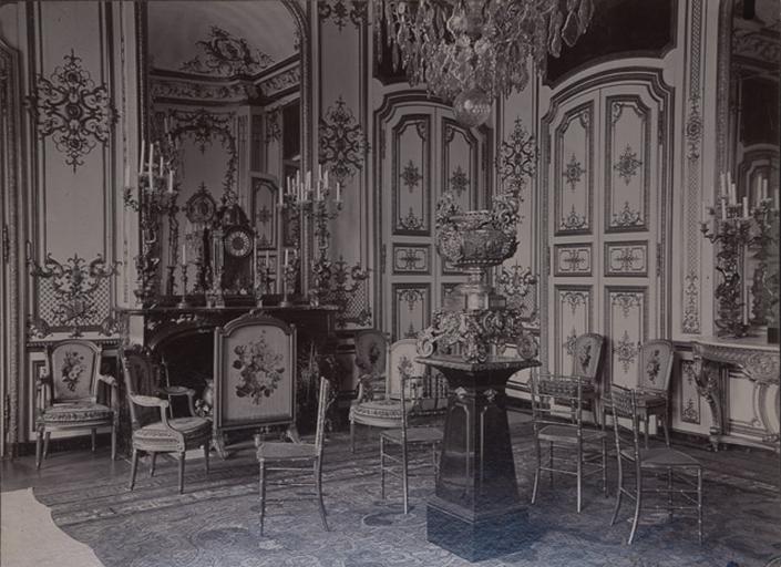 Le château de Chantilly : Le Grand Cabinet